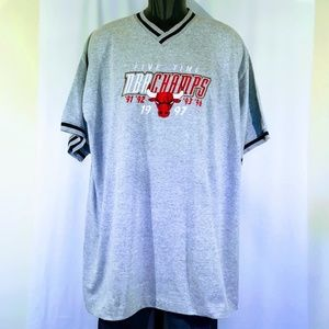 1997 Deadstock Pro Player Chicago Bulls Tee W/Tags